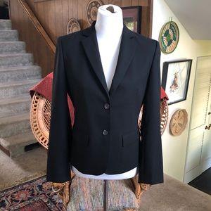 Brooks Brothers Stellita Fit/Slim Fit Black Blazer